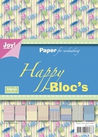 Joy! A5 Paperbloc 6011-0034 Happy bloc Sweet