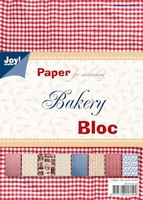 Joy! A5 Paperbloc 6011-0033 Happy bloc Bakery/gebak