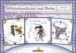 Hobbydols 114 Winterborduren met Betty + poster 1145
