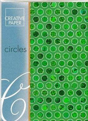 JEJE A4 Creative Paper Circles Groen