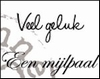 MD Clear stamps CS0882 teksten Nederlands Veel geluk