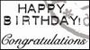 MD clear stamps CS0883 teksten Engels Congratulations