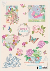 MD A4 Knipvel Els Wezenbeek EWK1219 Rose garden 1
