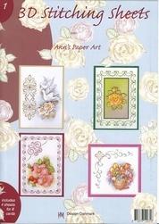 Ann's Paper Art 3D Stitching Sheets  1