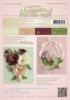 LeCreaDesign Silk papier 519579 assorti pink tones