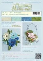 LeCreaDesign Silk papier 519562 assorti blue tones