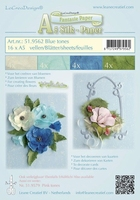 LeCreaDesign Silk papier 519562 assorti blue tones