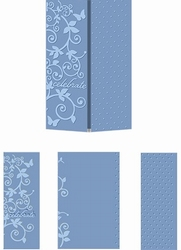Embossing Folder Craftwell Magic Celebration