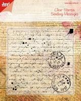 Joy Clear stamps 6410-0024 Old letter