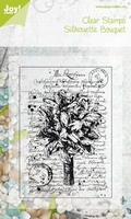 Joy Clear stamps 6410-0046 Silhouette Bouguet