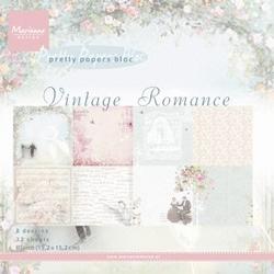 MD Pretty Paper Bloc PK9104 Vintage romance