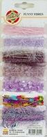 Lint Funny fibres ass. roze-lila-paars