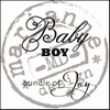 MD clear stamps CS0889 baby boy UK