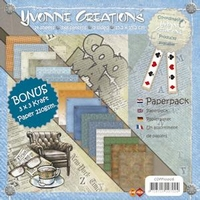 Paperpack Yvonne Creations CDPP10006 Men