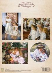 A4 Vel Nellie's Vintage Nevi037 Color Beautiful ladies