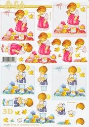 A4 Knipvel Le Suh 777279 Kindjes jongen/meisje