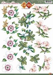3D Knipvel Erica van Leeuwen CD10350 Bloemen