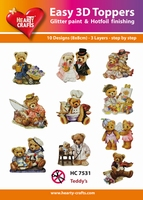Hearty Crafts Easy 3D Toppers  HC7531 Beertjes