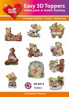 Hearty Crafts Easy 3D Toppers  HC6513 Beertjes