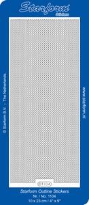 Stickervel Starform 1104 Fijne randen