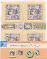 Joy! 3D Hollow & Pyramid Decoupage 6013-1704 bloemen 4