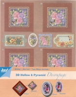 Joy! 3D Hollow & Pyramid Decoupage 6013-1703 bloemen 3