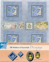 Joy! 3D Hollow & Pyramid Decoupage 6013-1701 bloemen 1