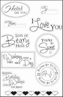 MD Clear StampFairy SF1113 Sentiments