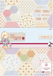 A5 Paper pack Papermania TIL 160102 Tilly Daydream