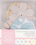 Papermania Big Bloomers PMA 368105 Spots & Stripes Pastels