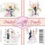 Wild Roses Studio Printed panels CP013 Romantic