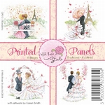 Wild Roses Studio Printed panels CP013 Romantic