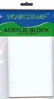 Novastamp acrylblok voor clear stempels 105/155