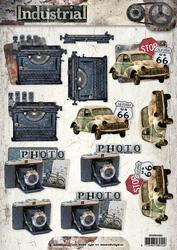 A4 Knipvel Studio Light Industrial 3D SL1320 Kodak ea
