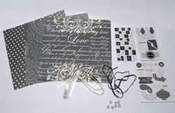 Crea Motion Scrap Kits Black & White