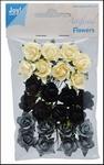 Joy! Artificial Flowers 6370/0059 Crème/grijs/zwart