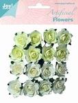 Joy! Artificial Flowers 6370/0063 Wit/crème