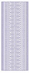 Stickervel Voorbeeldkaarten 3029 Diverse Randen