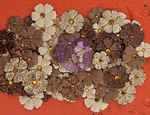Prima Marketing Mulberry Paper Flowers 574659 Ardent