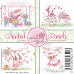 Wild Roses Studio Printed panels CP007 Annabelle`s Garden