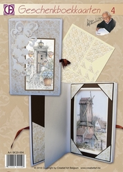 Creatief art A4 pakket BK20-004 Geschenkboekkaart 4