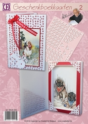 Creatief art A4 pakket BK20-002 Geschenkboekkaart 2