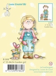 LeCreaDesign Clear stamp 558620 Bambini garden girl