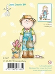 LeCreaDesign Clear stamp 558619 Bambini garden boy