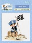 Craft. Comp. Angelica & Adam Acryl Stamp Pirates A'hoy