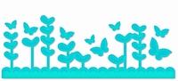 Couture Creations Dies 723486 Pippa rand met vlinders ea