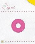 Nellie's Die Happy Stitches HSD005 Circle