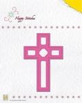 Nellie's Die Happy Stitches HSD006 Cross