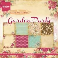 MD Pretty Paper Bloc PK9108 Garden Party
