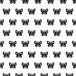 Nellie's Background Embossing folder EEB009 Spring butterfly